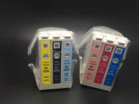 Ink cartridge model T0821N T0822N T0823N T0824N T0825N T0826N genuine ink cartridges For Epson T50 T59 TX700W TX800FW TX810FW pr