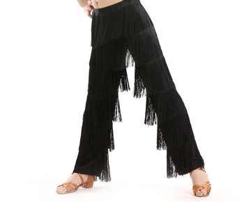 flamengo women dress fringed child kid children latin dance for girls pants costume salsa cha cha ballroom tango dresses adult