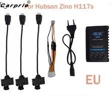 Carprie eu drone バッテリー充電 3 ケーブルアダプタ hubsan ジノ H117S quadcopter バッテリー B3 充電器 90606