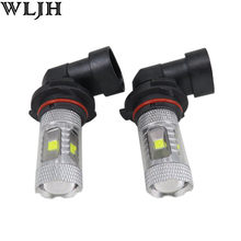 WLJH 2x 30W 9006 HB4 Epistar Led Chip Car DRL Fog Driving Lamp Light Bulbs for Subaru Forester Impreza 2013 2012 2011 2010(China)