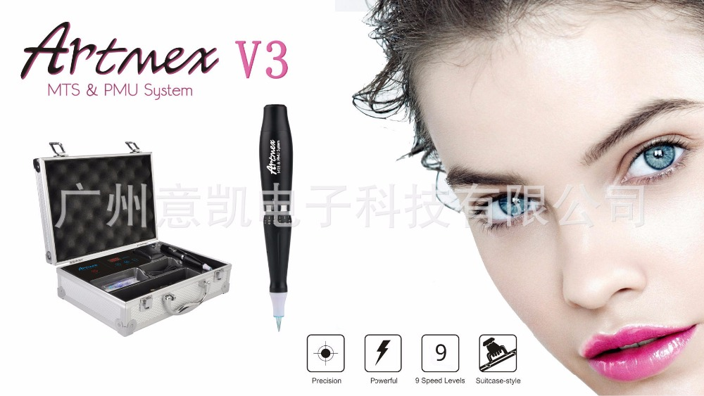 2018 High-quality Artmex V3 Manufacturer newest digital cosmetic tattoo permanent make up machine High-quality for MTS&PMU high quality 20 chau gong from china manufacturer arborea