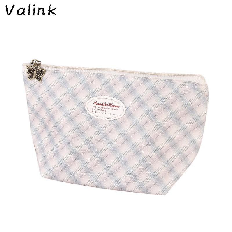 Valink 2017 New Makeup Case Pouch Toiletry Wash Organizer Make Up Bag Portable Travel Cosmetic Bags Trousse Maquillage Femme fashion travel cosmetic bag makeup case portable travel pouch toiletry wash organizer trousse de maquillage for