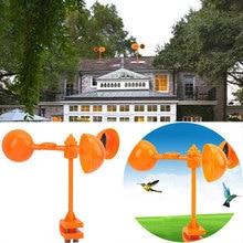 Bird Scarer Repeller Crop Tools 360° Wind Power Realistic Drive Away Device Creative Crow