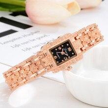 Lvpai брендовые роскошные женские часы-браслет модные женские наручные часы для женщин кварцевые спортивные часы из розового золота Прямая поставка 533