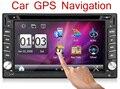 """2DIN de Navegação GPS Rádio Do Carro 6.2 """"DVD Player MP5 HD 1080 P TouchScreen Bluetooth Car Player De Vídeo Suporte Traseiro Câmera de visão"""