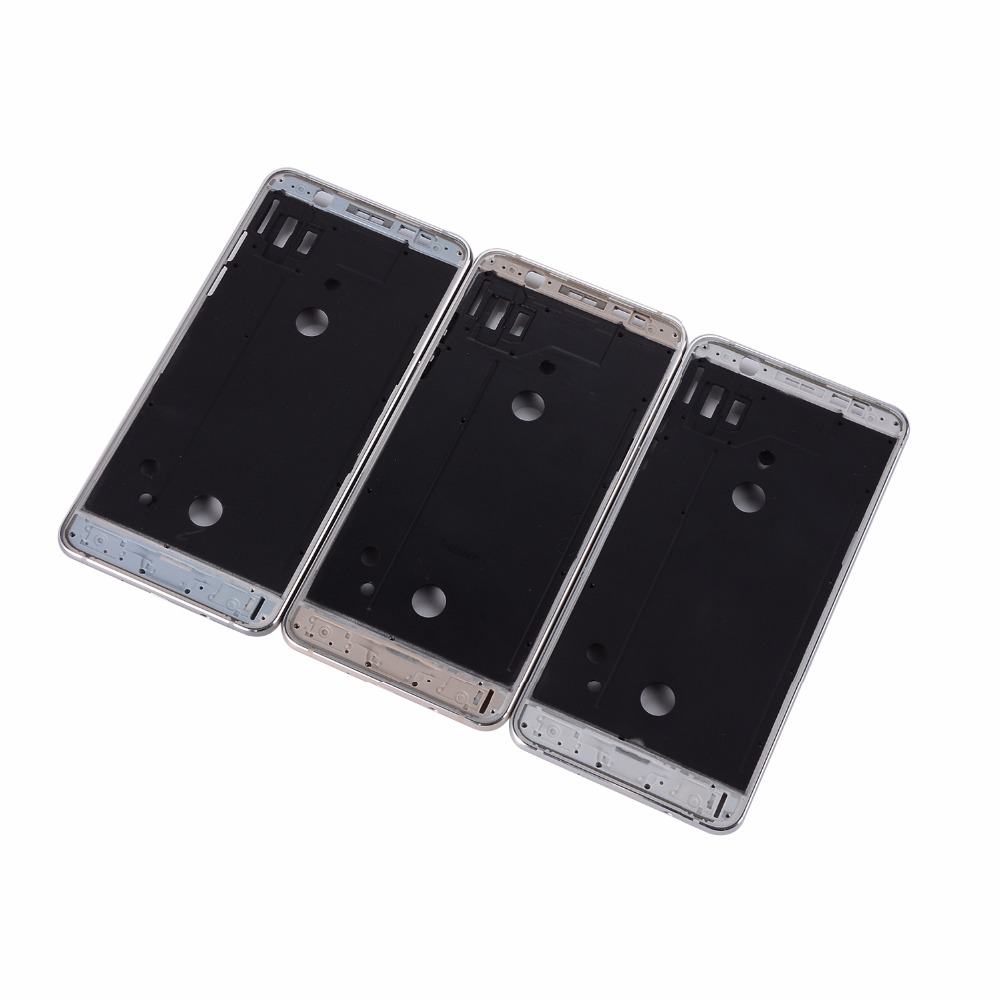 J5 J7 2016 Front Frame Replacement For Samsung Galaxy J510 J710 Middle Plate Frame Bezel Housing Cover with Side Button