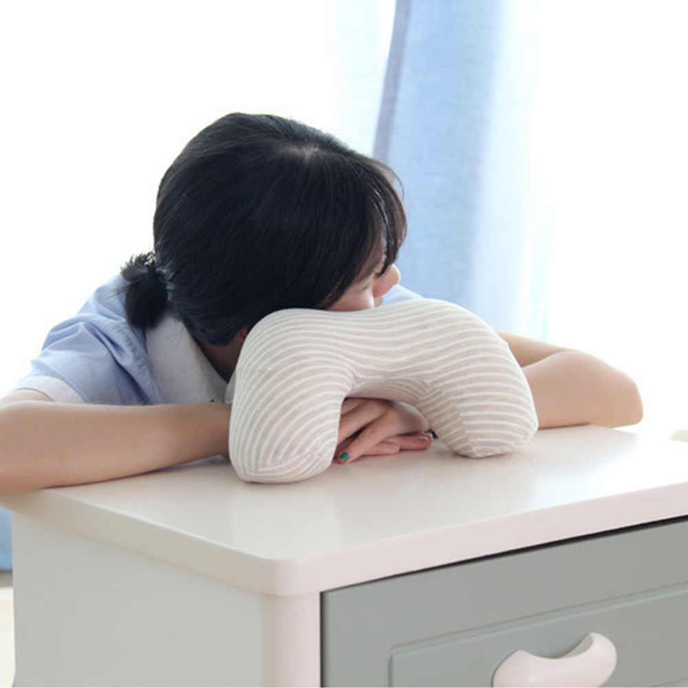 Memory Foam Nap подушка для головы и шеи ножки для офисного стола школы накладка на стол с медленным восстановлением формы и подголовник подушка массажа шейных для сна, отдыха Подушка для сна