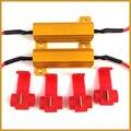 2 pcs 6ohm 50 W Para lâmpada LED Turn Signal Nevoeiro Luz Running carga Resistor Correção de Erro do Flash Canbus Livre de Erros Auto Luzes de Decoração