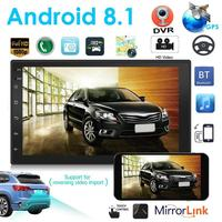 VODOOL 9219 2Din Car Multimedia Player 7 HD Touch Screen Android 8.1 Car Stereo MP5 GPS Navigation Bluetooth WiFi Camera Player