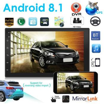 VODOOL 9219 2Din Car Multimedia Player 7 HD Touch Screen Android 8.1 Car Stereo MP5 GPS Navigation Bluetooth WiFi Camera Player image