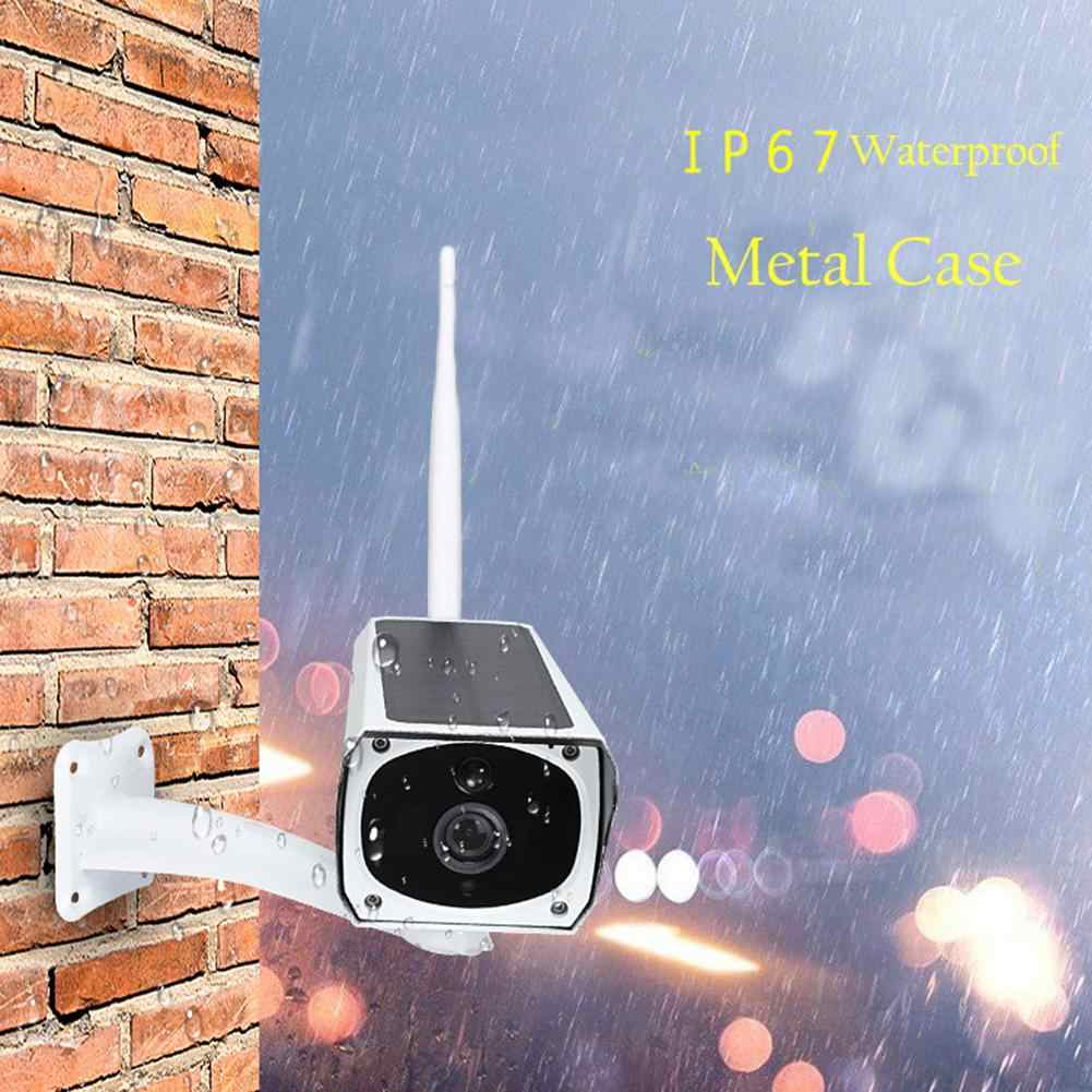 Home Security WIFI Wireless Waterproof Outdoor 1080P 2.0M Solar Battery Power Surveillance Security CCTV Camera Video Recorder