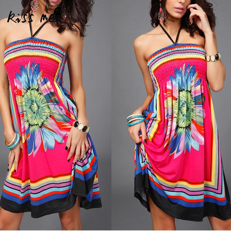 Halter Floral Beach Caftan Swimsuit Cover Up Geometric Print Pareo Women Robe Plage Swimwear Dress Sexy Sarong Beach Tunic 2xl in Cover Ups from Sports Entertainment