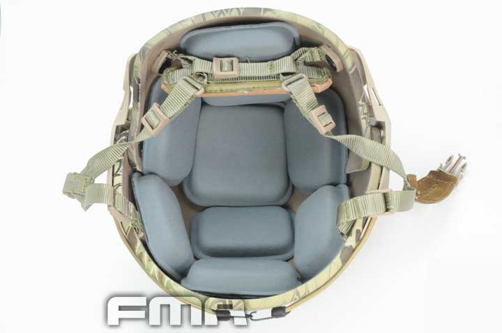 FMA Protective Helmet Pad Airsoft Military Helmet Protector Pads For CP Helmet Paintball Wargame Cushion Pad Helmet Accessory