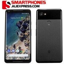 ЕС Версия Google Pixel 2 XL 6,0 ''Восьмиядерный 4G LTE Android 8. 0 2880*1440 4 Гб ram 64 Гб 128 ГБ rom Европейский смартфон