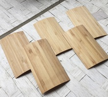 30Pieces/Lot  6x12mm Thickness:0.5mm Small Piece Bamboo Peel Chip Veneer
