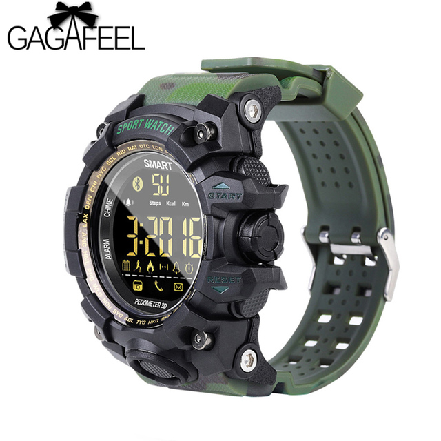 GAGAFEEL EX16S Bluetooth Smart Sport Watch IP67 Waterproof Pedometer Smartwatch