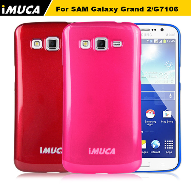 size 40 ed80f 87a71 Aliexpress.com : Buy IMUCA original case for samsung galaxy grand 2 case  cover silicone Back cover for Samsung Galaxy Grand 2 G7105 G7106 phone  cases ...