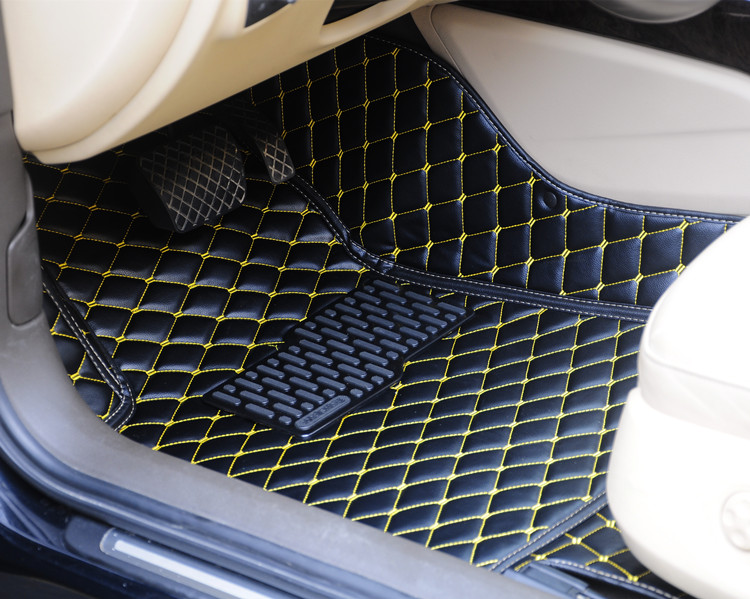 free shipping full set 3d leather car mats anti slip car floor cover mat car carpet for volkswagen sharanin floor mats from automobiles u0026 motorcycles on