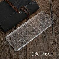 Transparent Seal Plexiglass High Quality Crystal Acrylic Handle Transparent Seal Matching 16 6 Large