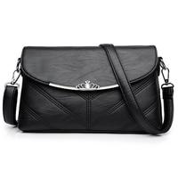 2017 Women Messenger Bags Small Leather Crossbody Shoulder Bag Female Sac A Main Vintage Ladies Brand