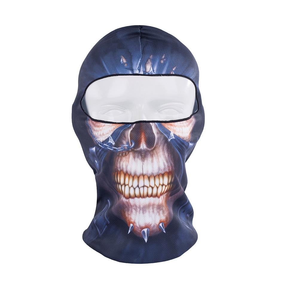2017 Hot Sale Sports Hat Cycling Motorcycle Masks 3D Animal Active Outdoor Hood Hats Veil Ski Balaclava Skull Mask Multi Color недорого