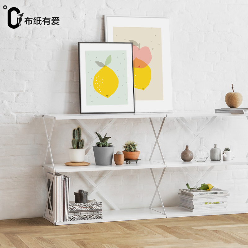 lovely fruit colorful print poster wall