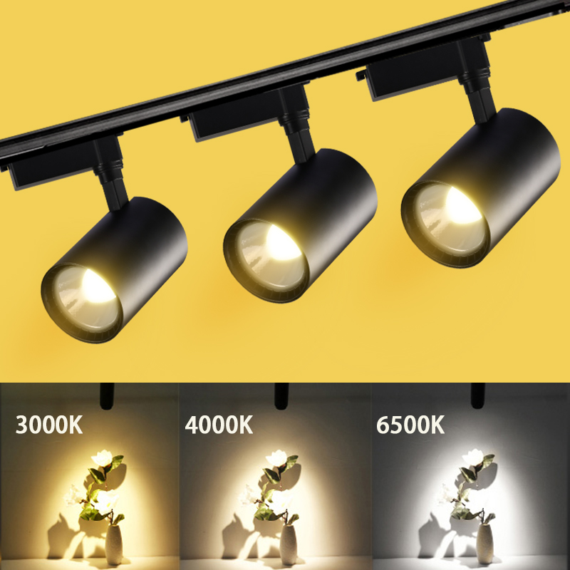 Dimmable Led Track Lamp Light 12w 30w