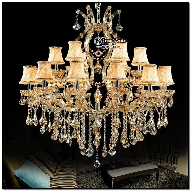 Luxusní křišťálové lustrové svítidlo Maria Theresa Crystal Luster Lamp Deckenleuchten pro projekt Lobby Stair Hallway MD8475