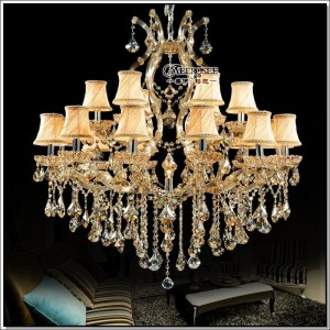 Luxury Crystal Chandelier Light Fixture Maria Theresa Crystal Luster Lamp Deckenleuchten for Lobby Stair Hallway project MD8475