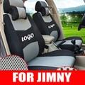 Пользовательские чехлы на сиденья для suzuki jimny деталей автомобиля аксессуары сэндвич автомобилей чехлы сидений протектор дизайн декоративные наволочки