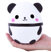 2018 Hot Sale Squash Anti-stress Toy Jumbo Cute Panda Squishies squishy Slow Rising Kids Toys Doll Stress Relief Toy oyuncak S(China)
