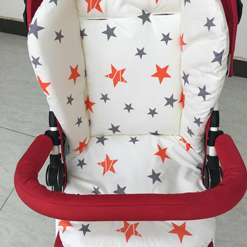 ALWAYSME สไตล์เด็กทารกรถเข็นเด็กเบาะที่นั่งเด็กเก้าอี้เบาะรองนั่ง Booster เสื่อแผ่นให้อาหารเก้าอี้เบาะ