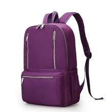 Модные Водонепроницаемый нейлоновый рюкзак Для женщин Сумки элегантный дизайн рюкзак Обувь для девочек Школьные сумки Для женщин Back Pack Студент Книга Сумки