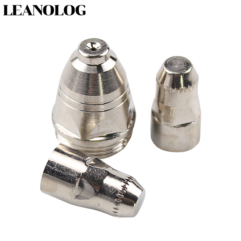 20pcs P80 Consumables Tips and Electrodefor 80A 100A Air Plasma Cutter CUT80 CUT100 and WSM Welding Machine in Welding Nozzles from Tools