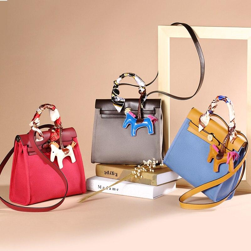 EIMORE 2019 femmes sac à main mode femmes Messenger toile sacs décontracté fourre-tout marque de luxe épaule sac à bandoulière femme Bsg