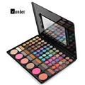 Professional 78 Colors Makeup Colorful Eyeshadow Palette Highlighting Blusher Concealer Eye Shadow Make up Kit Set With Mirror