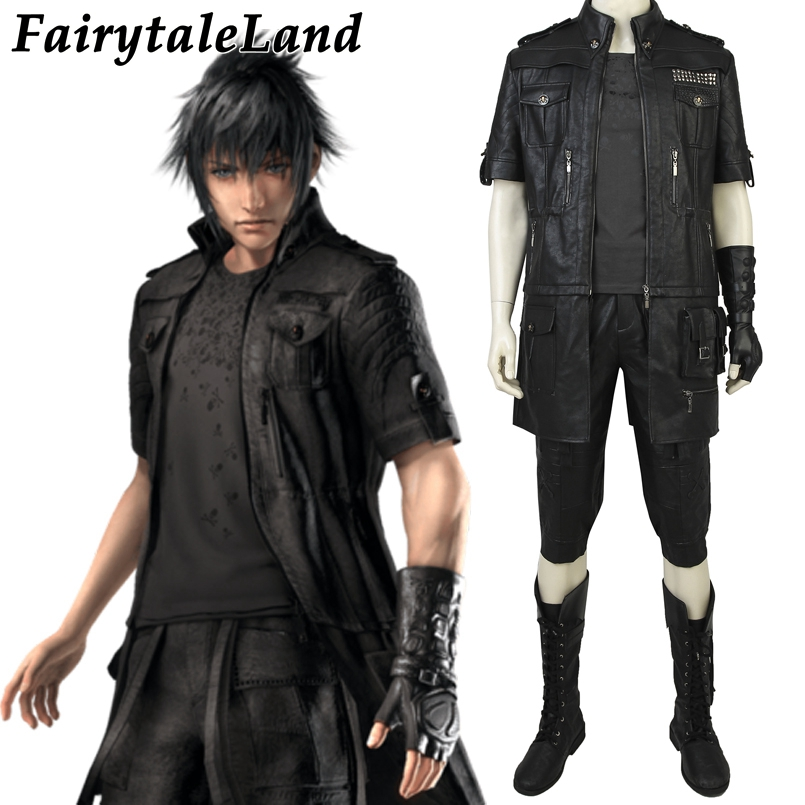 Hot Game Final Fantasy XV Noctis Lucis Caelums Cosplay Costume for Halloween