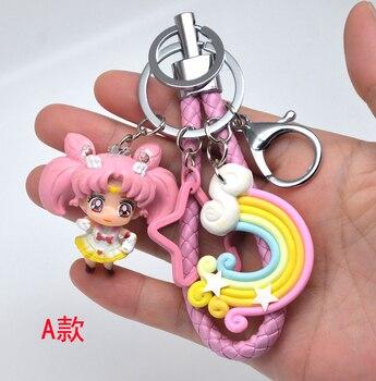card captor card captor sakura  keychain key bag charm pendant hang chain keychain wands 5