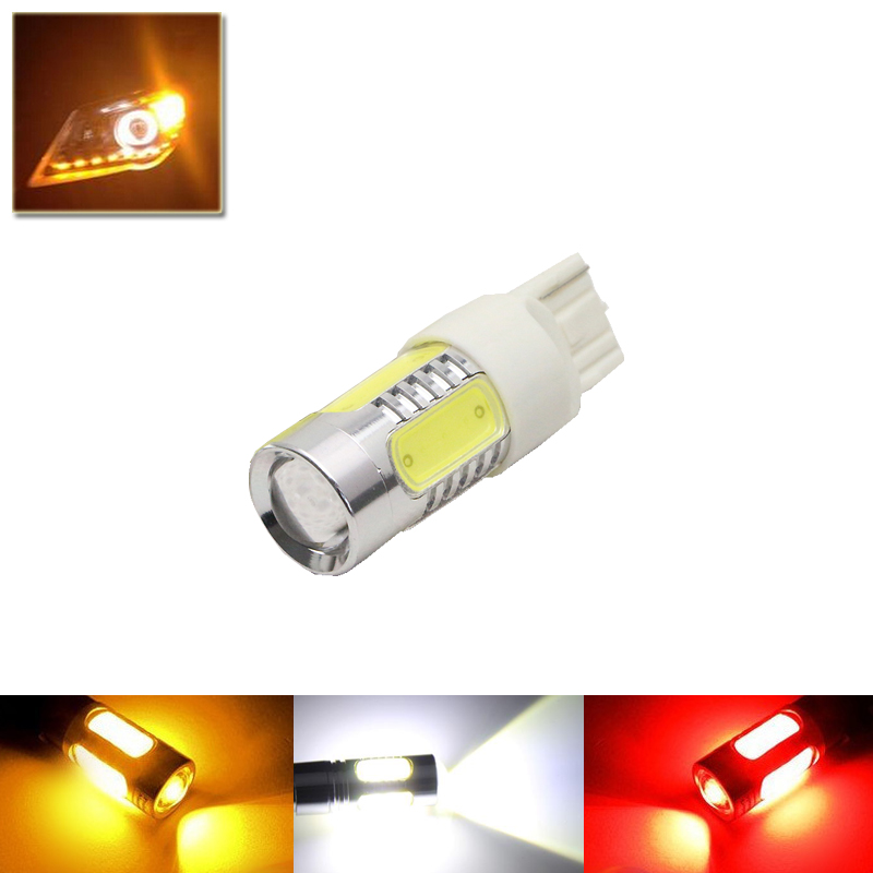 Led Auto Car Lights Replacement Bulbs T20 7440 W21W Car Styling Led Light Source 7440 Rear Brake Parking Backup Tail Lamps Bulb 2pcs auto h7 33smd 4014 led fog lamps car led lights source vehicle reverse lights automobile external brake bulbs turn signals