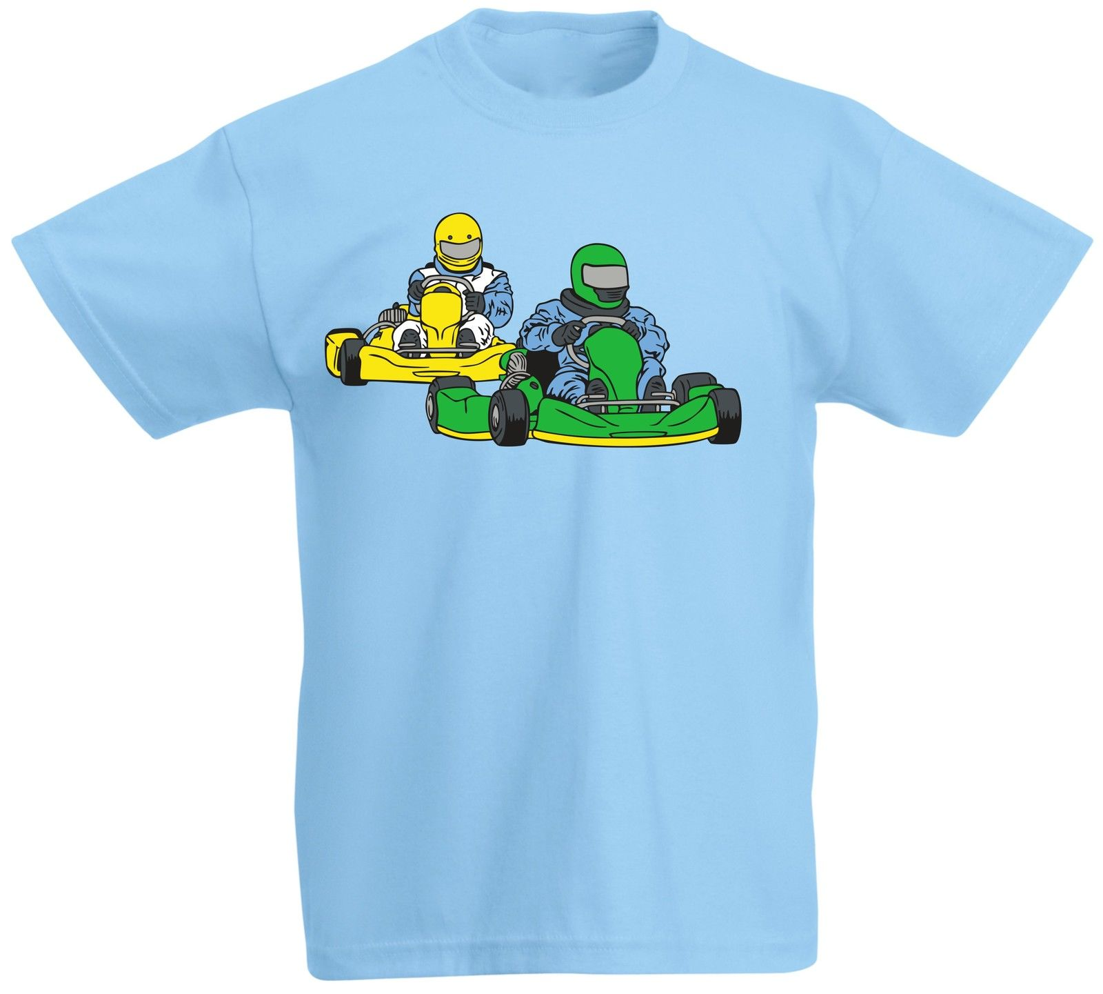 Kart Game Car Race Driving Driver Drive Fast Party Kids T shirt New T Shirts Funny Tops  ...