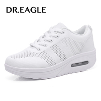 DR.EAGLE sports running shoes women sneakers krasovki white lose weight free run air cushion walking sport shoes female