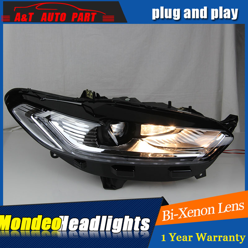 Auto Lighting Style LED Head Lamp for Ford Mondeo led headlights 2012-2015 signal led drl H7 hid Bi-Xenon Lens low beam auto lighting style led head lamp for mazda 3 axe headlights for axela led angle eyes drl h7 hid bi xenon lens low beam