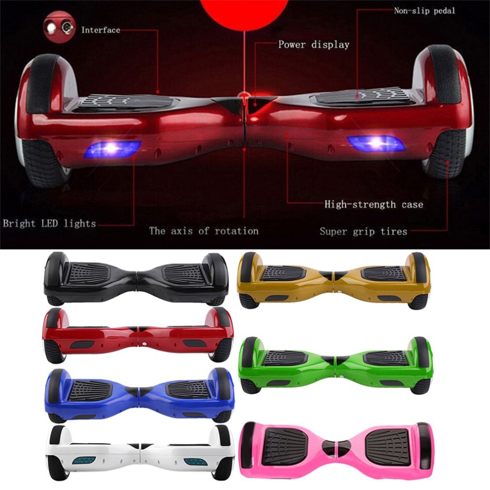hoverboard Smart Electric Self Balancing Scooter Hover Board Balance 2 Wheels Portable COOL Guy/Girl