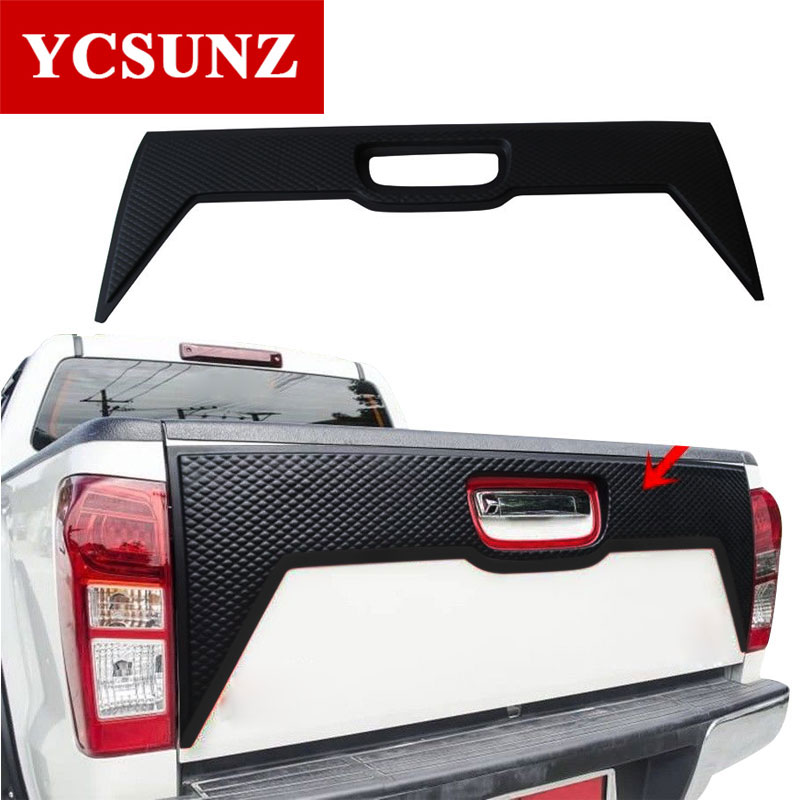 CARBON MATT TAIL LIGHT COVER FIT FOR ISUZU D-MAX DMAX PICKUP 2012 2013 2014 2015