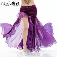 Hot Sale Belly Dance Skirt Women Belly Dance Velvet Skirt Girls Belly Dance Performance Skirt 11