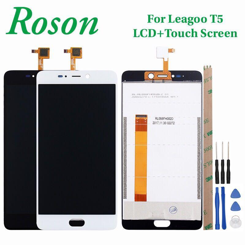 Roson pour LEAGOO T5 T5C LCD Affichage Et Écran Tactile 5.5 Assemblée Téléphone Accessoires Pour LEAGOO T5 Réparation Partie + outil + Adhésif