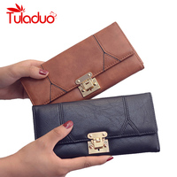 Luxury Women Wallets Patchwork Leather High Quality Designer Brand Wallet Lady Fashion Clutch Casual Haspe Lady