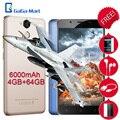 6000 мАч Blackview Р2 Мобильный Телефон Android 6.0 MTK6750T Octa-core 4 ГБ + 64 ГБ 13.0MP + 8.0MP отпечатков пальцев 5.5 дюймов 4 Г Смартфон 5 Г Wi-Fi