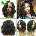 Full Lace Human Hair Wigs For Black Women Short Cut Bob Wig Body Wave Lace Front Wigs With Baby Hair U Part Human Hair Wigs 8A