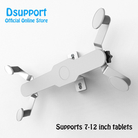Wall Mount Tablet Holder Aluminum Alloy Wall Hang Bracket Screen 360 Degree Rotation Tablets Stand for iPad Air Mini 7 12 inch
